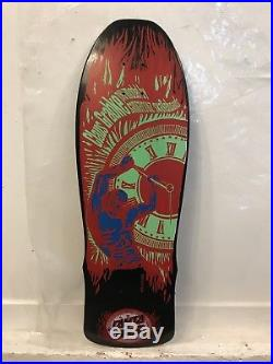 Santa cruz claus grabke NOS Vintage Skateboard Deck