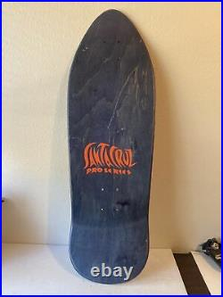 Santa cruz jason jessee Mini skateboard sun god skateboard Purple Rare