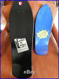 Santa cruz jason jessee sungod skateboard deck w FREE bonus mini deck