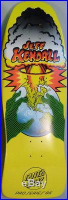 Santa cruz jeff kendall end of the world reissue skateboard jim phillips