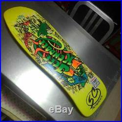 Santa cruz santacruz Vintage SkateBoard Deck Rare unused item From JP