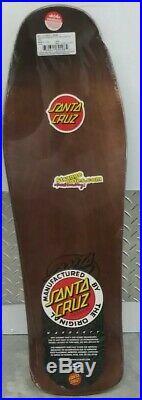 Santa cruz skateboard bod boyle reissue deck