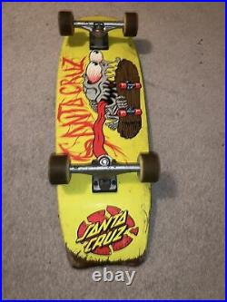 Santa cruz skateboard complete