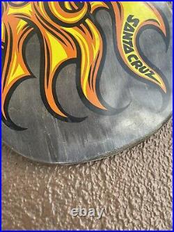 Santa cruz skateboard jason jessee sungod deck rare limited powell prime hosoi