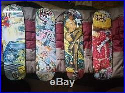 Santa cruz skateboards collection Robert Williams