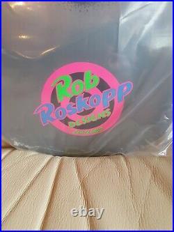 Sants Cruz Rob Roskopp Face Blacklight Reissue Skateboard Deck New