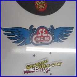 Se Racing Skateboard Skin Santa Cruz Screaming Hand Powerply 31 Inch