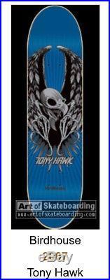 Signed Birdhouse Tony Hawk NOS Skateboard Deck Powell Peralta Santa Cruz
