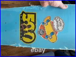 Simpsons Bart Slasher 500 Episodes Skateboard Deck Still in original packaging