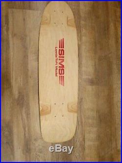 Sims / Lonnie Toft Deck / Vintage Skateboard / 70's / G&s / Nos / Santa Cruz