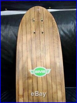 Sims / Superligth 31x9/ Vintage / Skateboard / 70's / G&s / Santa Cruz / Rare