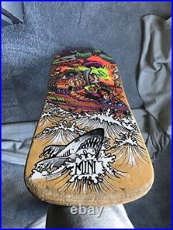 Sims Vintage OG 1988 Kevin Staab Mini Skateboard Deck Santa Cruz Powell Peralta