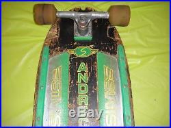 Sims andrecht skateboard complete gullwing Snakes Dogtown Kryptonics Santa Cruz