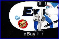 Skateboard Complete Custom EX 1 Titanium Trucks Element Spitfire Santa Cruz Girl
