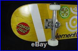 Skateboard Complete Organika Titanium Trucks Element Plan B Spitfire Santa Cruz