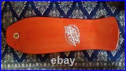 Skateboard decks, REISSUE Jeff Grosso, Santa Cruz, metallic orange, New OOS