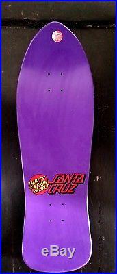Skateboard decks Santa Cruz Rare Dressen 30 fa. Years spacial