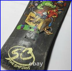 Skateboard decks Vintage Santa Cruz The Simpsons. Good Condition