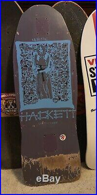 Skull Skates Dave Hackett Vintage Old School OG Skateboard Santa Cruz Hosoi SMA