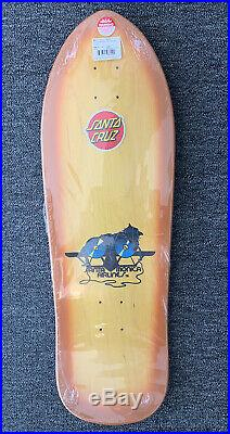 Sma Natas Kaupas Kitten Skateboard Deck Old School Shape Reissue Santa Cruz