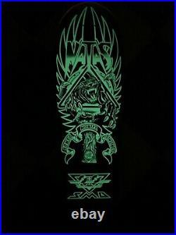 Sma Natas Kaupas Panther 3 Glow In The Dark Skateboard Deck Reissue Santa Cruz