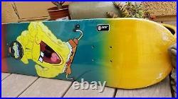SpongeBob SquarePants x Screaming Hand Santa Cruz Nickelodeon Skateboard Deck