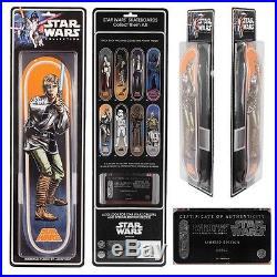 Star Wars Luke Skywalker Collectors Edition Santa Cruz Skateboard Deck