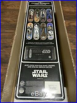 Star Wars Santa Cruz Collectible Skateboard Deck Droids R2-D2 & C-3PO Rare