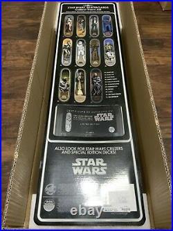 Star Wars Santa Cruz Collectible Skateboard Deck Obi-Wan Kenobi Rare