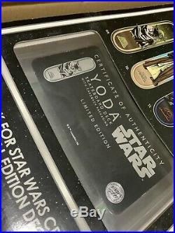 Star Wars Santa Cruz Collectible Skateboard Deck Yoda RARE 100% Authentic