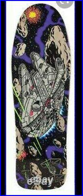 Star Wars Santa Cruz Skateboard DECK millenium falcon