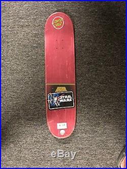 Star Wars Santa Cruz Slave Leia Skate Deck Skateboard Deck Princess Leia