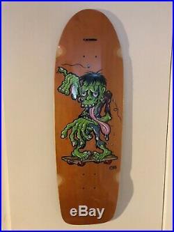 Steve Caballero Art skateboard 29/100 Hand Signed Powell Peralta Santa Cruz 80s
