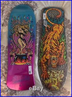 Steve Salba Santa Cruz Skateboard Reissue