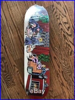 Supreme Skateboard Deck Rare Vintage Santa Cruz Sean Cliver