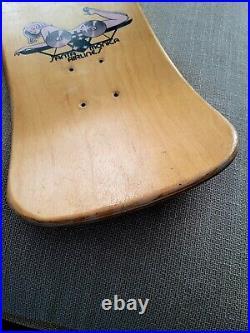 Tabla de skate Mike Conroy og Skateboard vintage old school Santa Cruz SMA