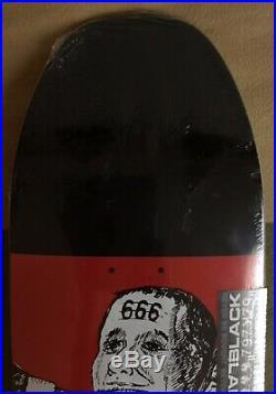 The Beast Black Label Emergency Skateboard (Santa Cruz Powell Peralta Zorlac)