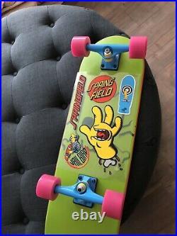 The Simpsons X Santa Cruz RARE Collectible Bart Board