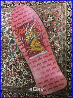 Tony Hawk Skateboard Deck Powell Peralta Vintage Rare Santa Cruz P5