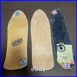 Unused Santa Cruz Royal Hawaiian Pool Service Jason Jessee Skateboard Deck Set