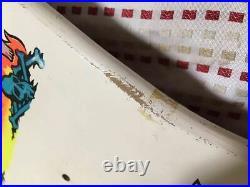 Unused Vintage 80s Santa Cruz Skateboard Skate Deck Deadstock