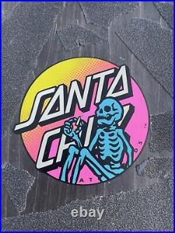 Used Santa Cruz Erick Winkowski Dope Planet 1 Skateboard Deck Rare Pool Vert