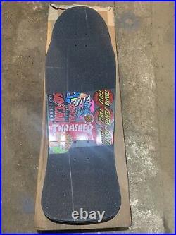 Used Santa Cruz Erick Winkowski Dope Planet Skateboard Deck Rare Pool Vert Natas