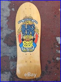 VINTAGE OG NOS Skateboard Alva Chris Cook. Zorlac Santa Cruz Vision Street Wear