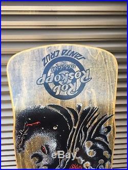VINTAGE skateboard Santa Cruz OG ROB ROSKOPP EYE