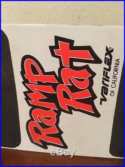 Variflex Skateboard Ramp Rat Vintage 80's Complete Santa Cruz Ca Powell USED