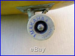 Vintage 1969 Makaha LX-10 Kicktail Skateboard Hobie Sims Santa Cruz