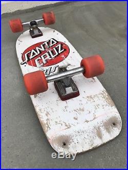 Vintage 1980s Santa Cruz R/S 10 Skateboard Stage 2 Independent Trucks Complete