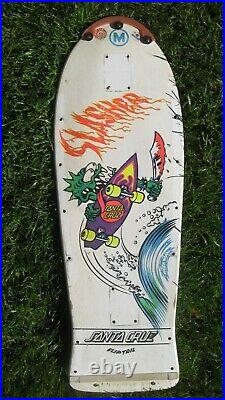 Vintage, 1980s era, Santa Cruz Skateboard, FlipTail model 29-1/4