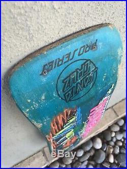 Vintage 1987 Santa Cruz Jeff Kendall Pumpkin skateboard deck Rare Jim Phillips